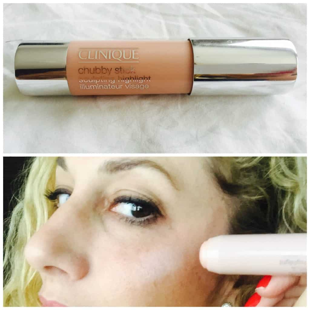 How to do strobing with Chubby Stick de Clinique