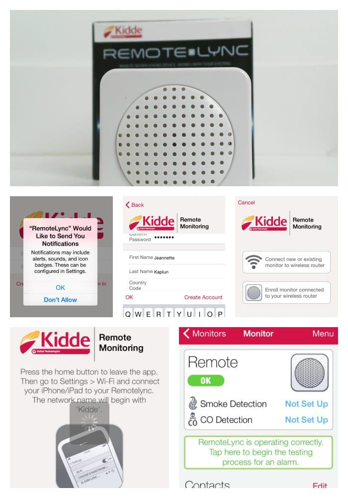 RemoteLync app home safety
