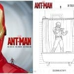 Fun printable activities from Ant-Man