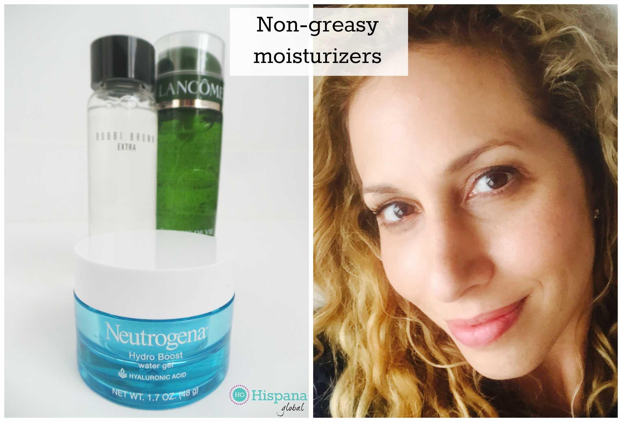 Non greasy facial moisturizer