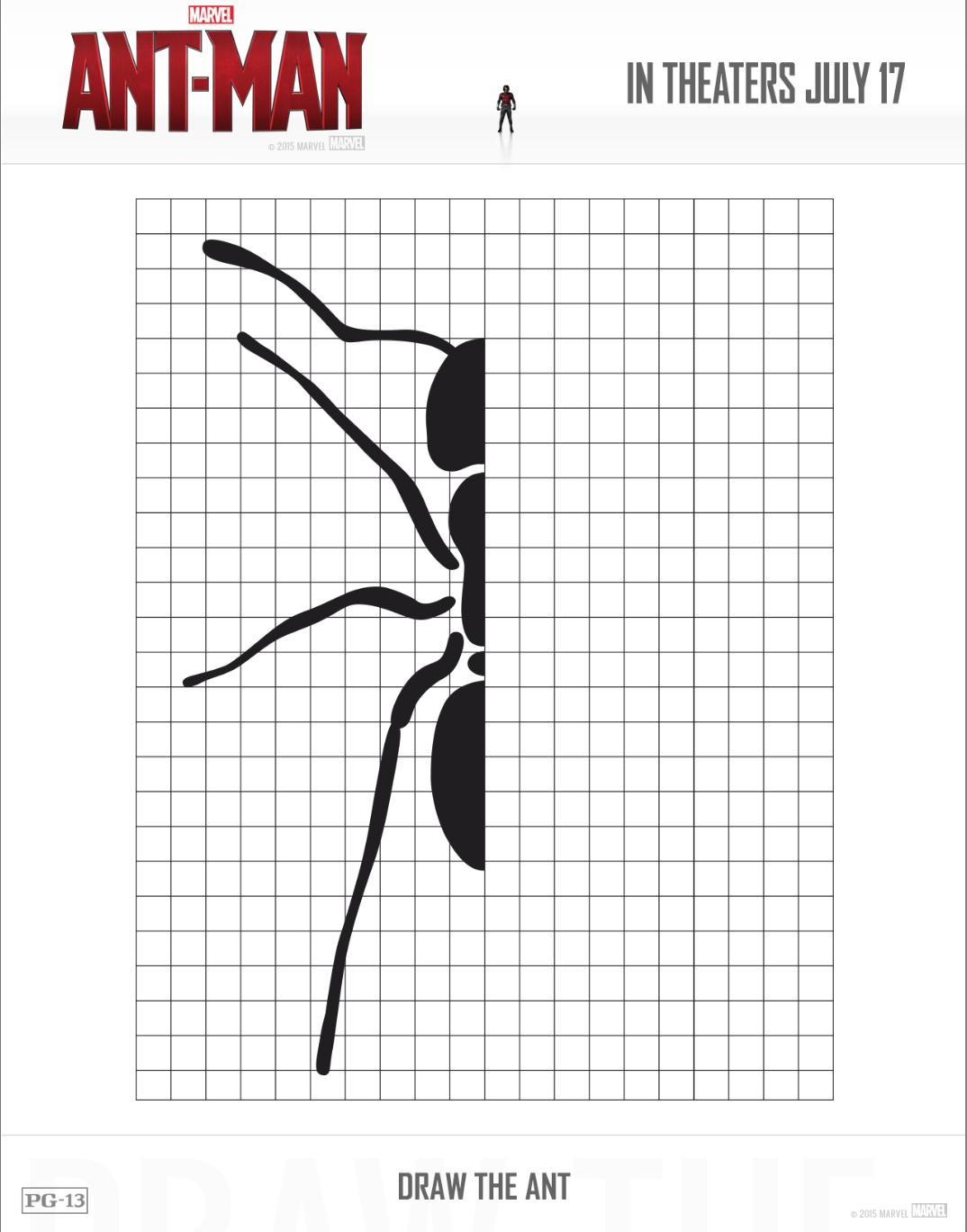 fun printable activities from ant man hispana global
