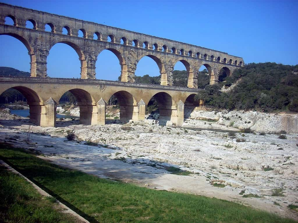 Roman Ruins in The South of France