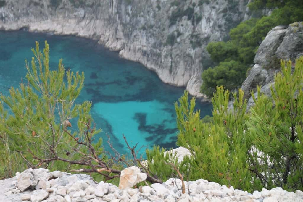 Les Calanques in the South of France