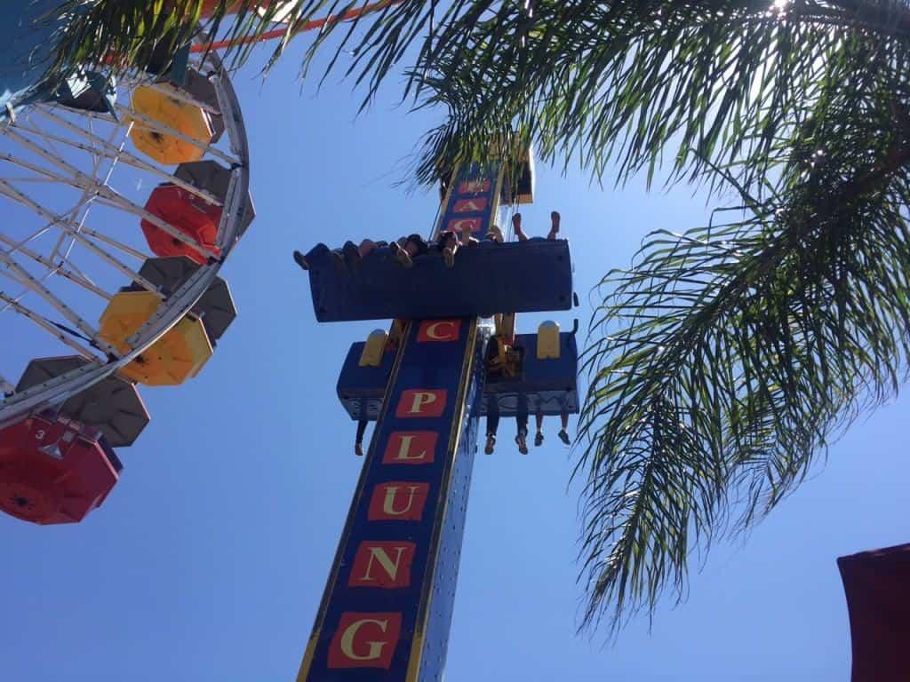 Family vacation fun at Santa Monica Pier