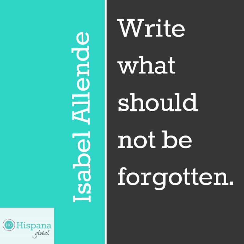 Isabel Allende quote