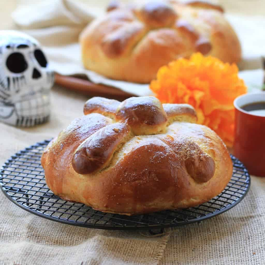 La Lechera Day of the Dead Bread pan de muertos