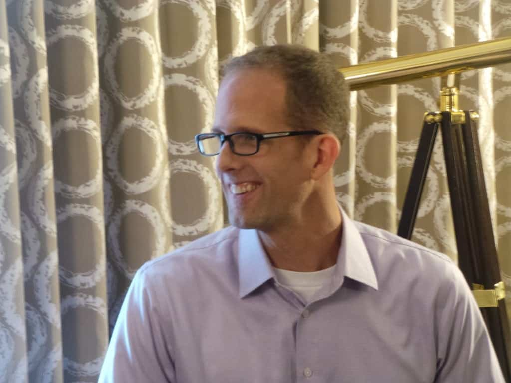 Pete Docter smiling
