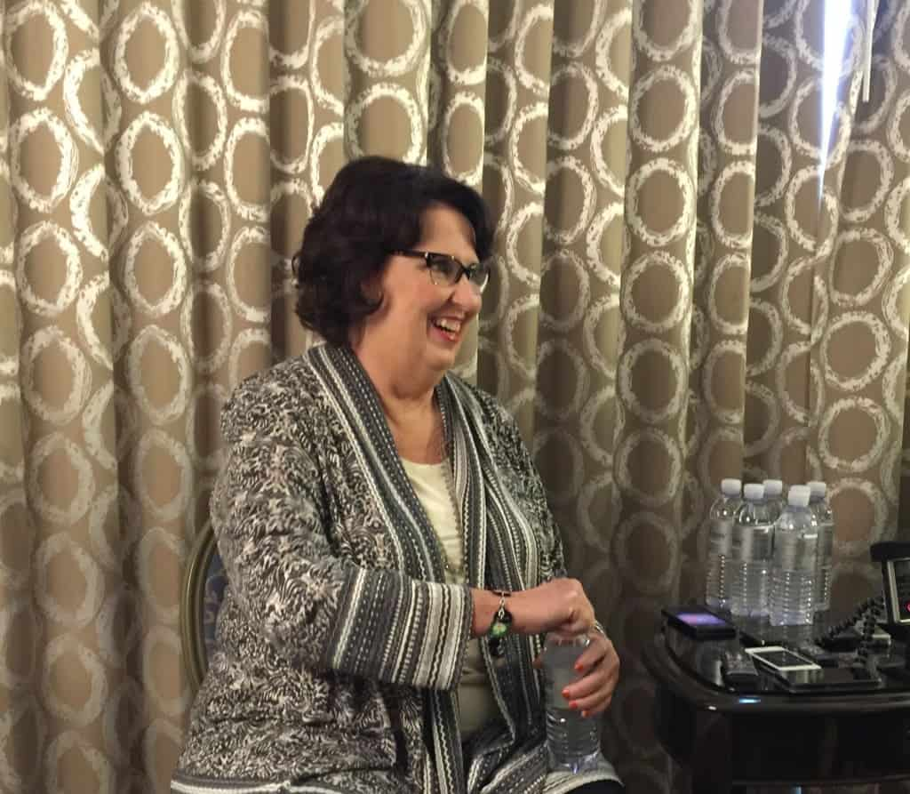 Phyllis Smith smiling