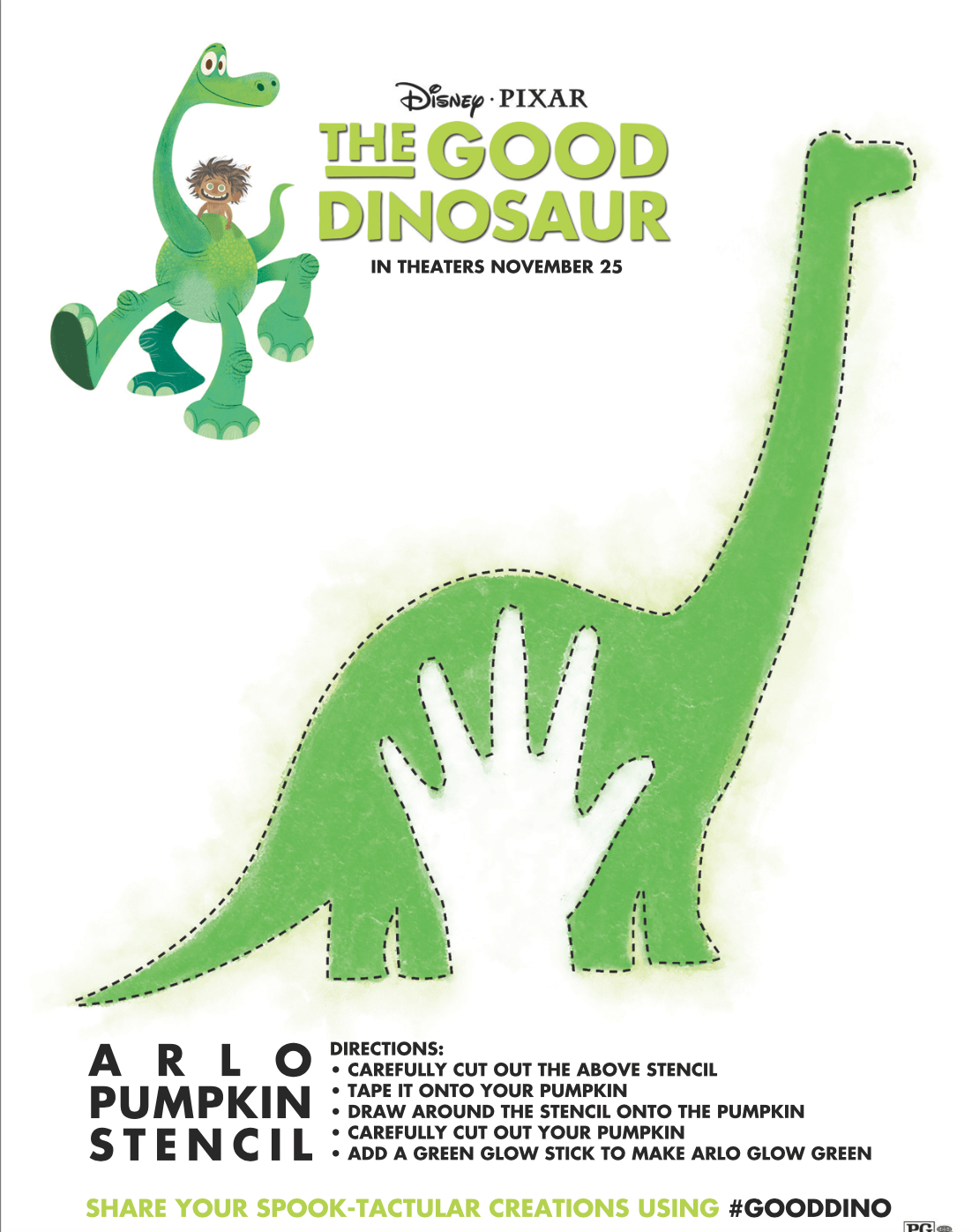 Your Kids Will Love These Fun and Free The Good Dinosaur Activities ...