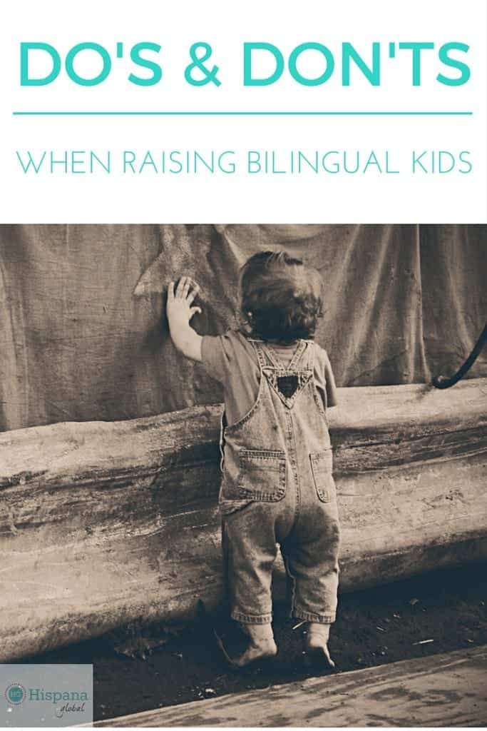Mistakes to avoid when raising bilingual kids