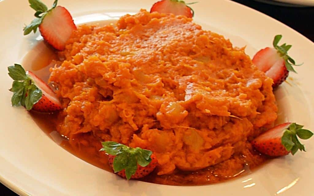 Healthy Mashed Sweet Potatoes for Thanksgiving