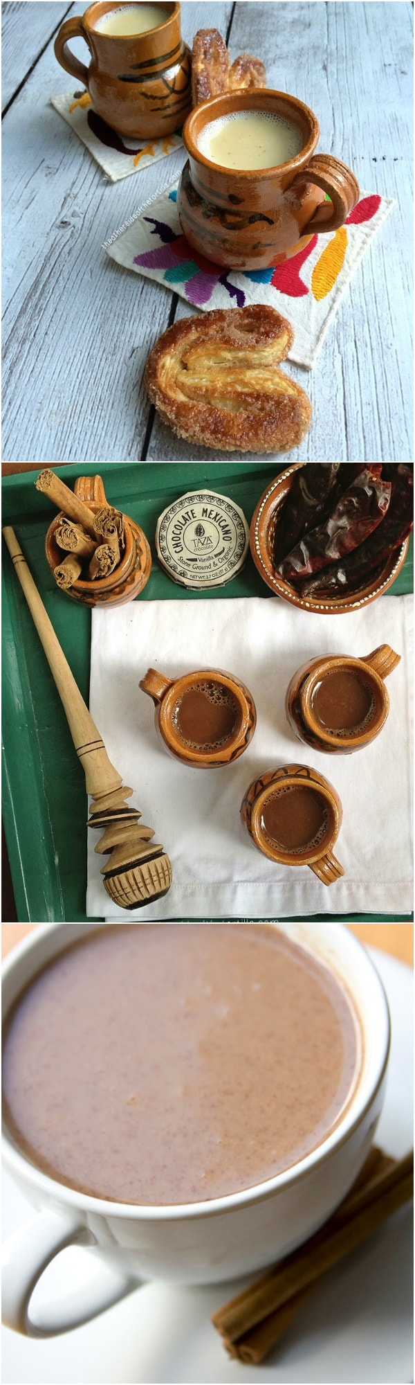 14 Family Activities for Fall: Make atole, hot chocolate or champurrado! Via hispanaglobal.net