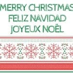 17 Free Printable Holiday Cards in English and Spanish