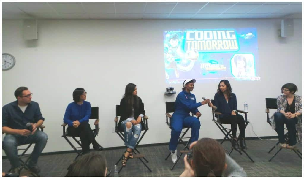 STEM panel at Google Miles from Tomorrowland event