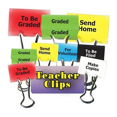 Teacher clips
