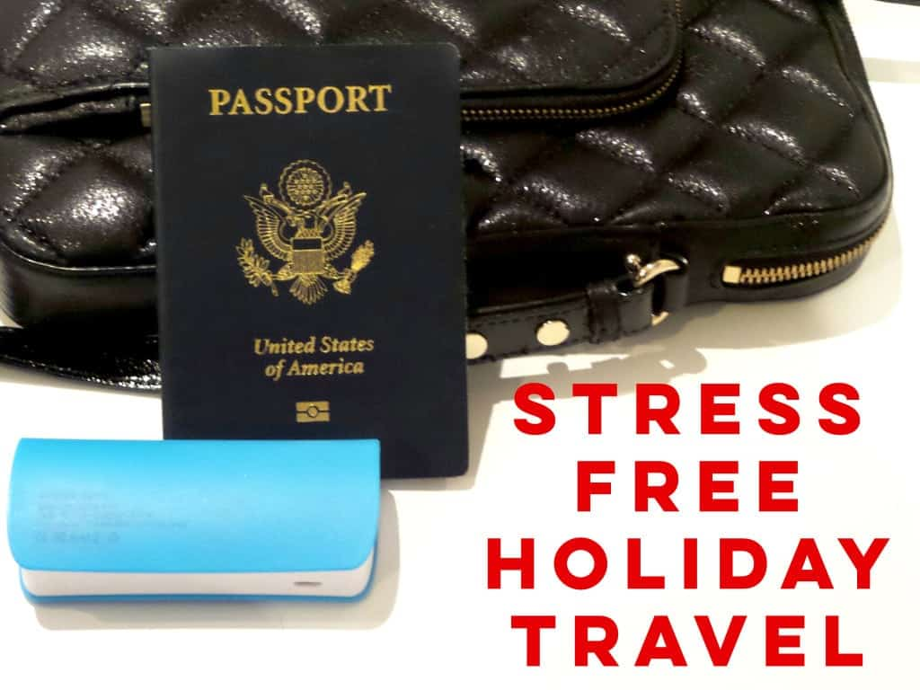 stress free holiday travel tips