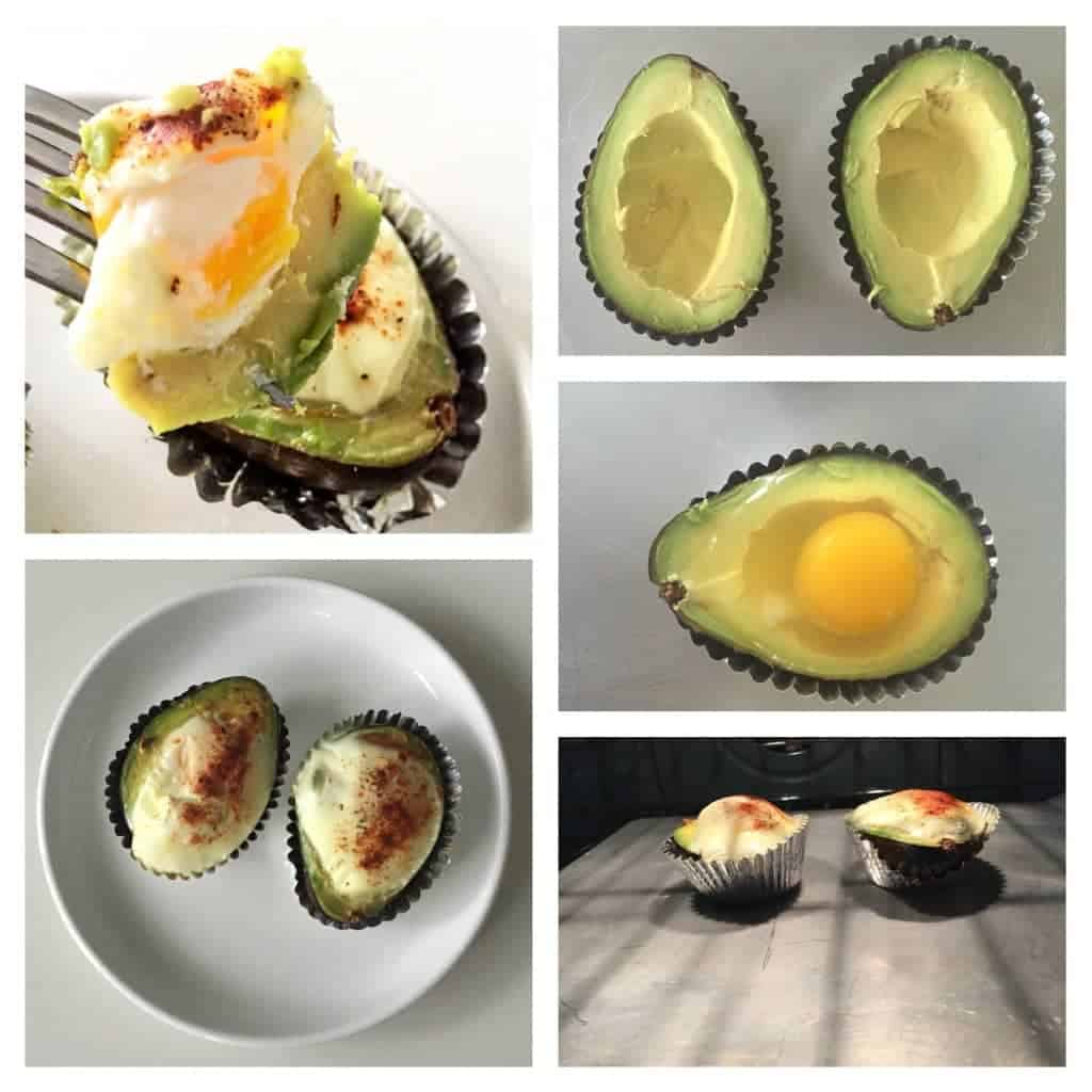 Gluten free egg and avocado recipe