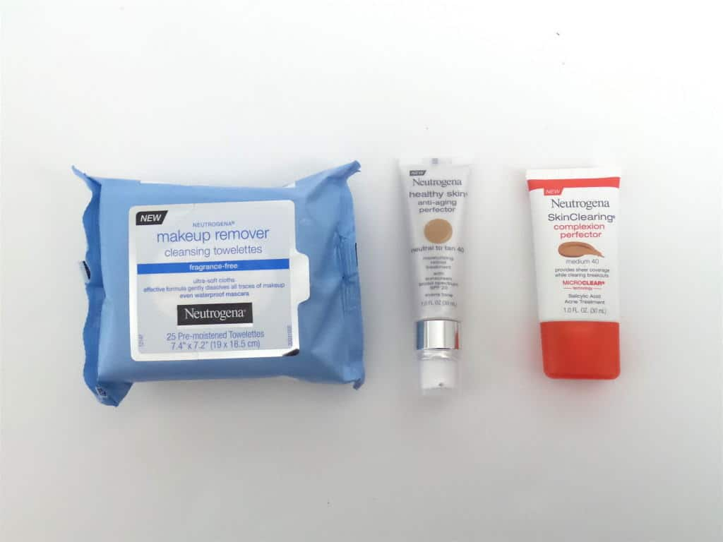 New Neutrogena products
