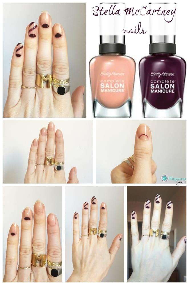 Nail art tutorial: Stella McCartney-inspired nails ...