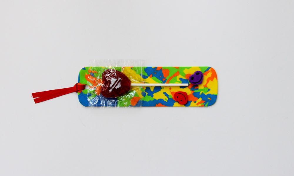 Foam bookmark craft