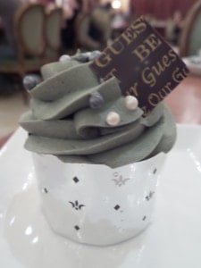 Grey stuff cupcake at Be Our Guest