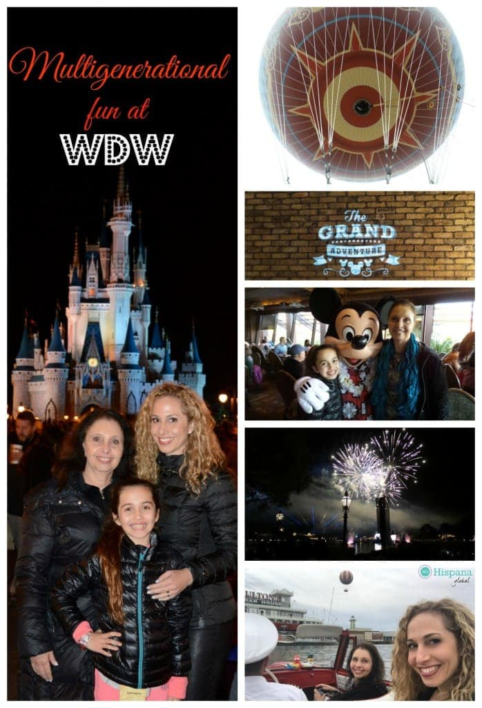 Multigenerational fun at Walt Disney World Resort