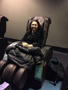 Space Mountain massage chairs