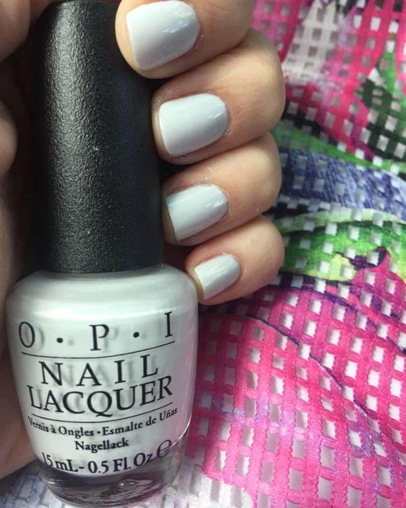 I Cannoli Wear OPI nail polish