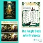 The Jungle Book Free Printable Activity Sheets