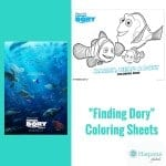Finding Dory Printable Coloring Sheets For Kids