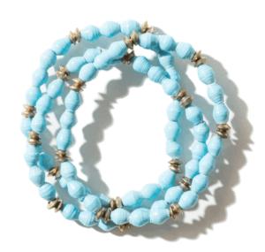 Akola project paper bracelets
