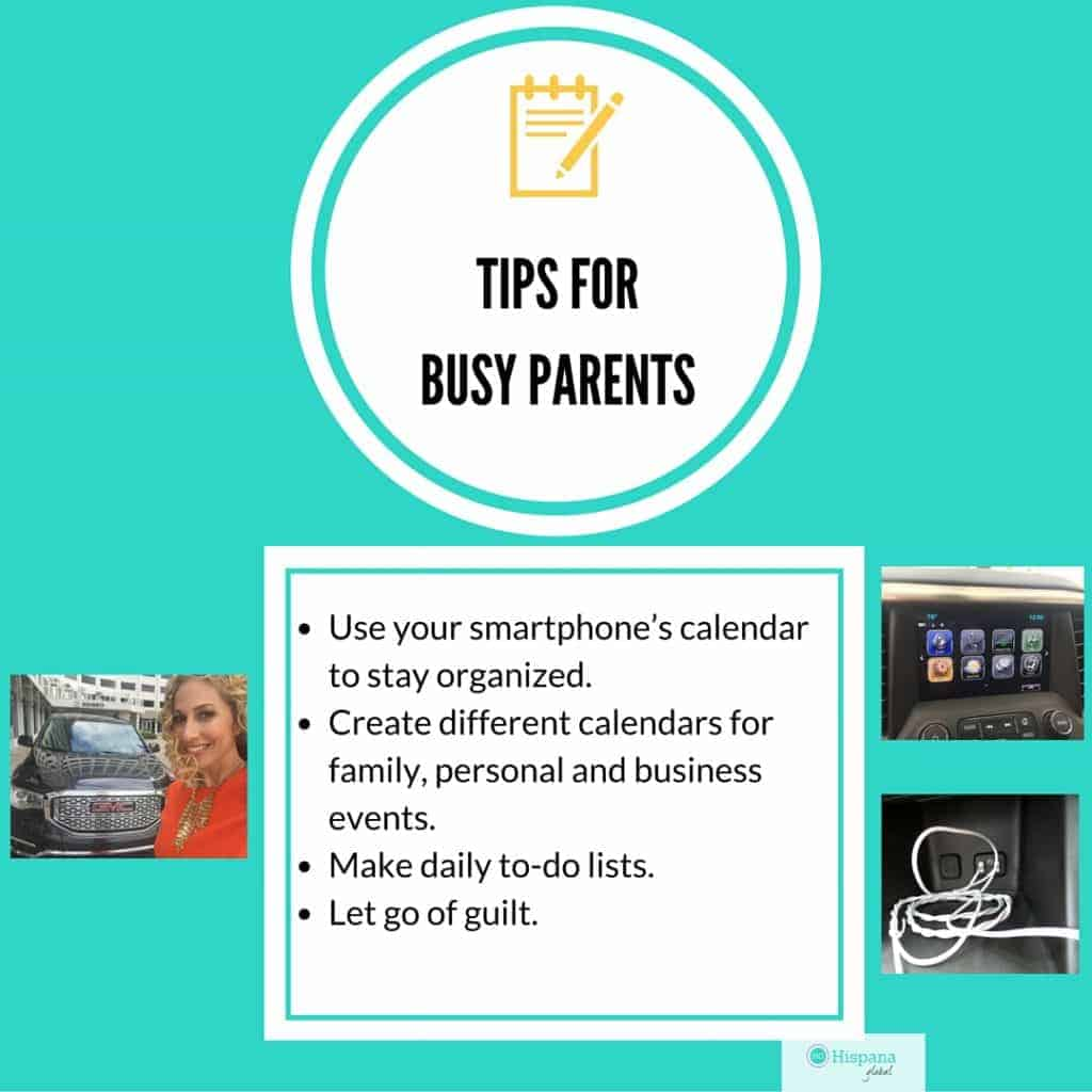 Tips for busy parents to stay organized