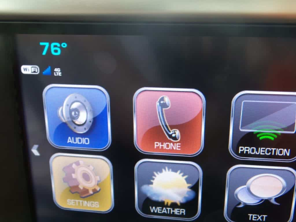 Touchscreen GMC Acadia
