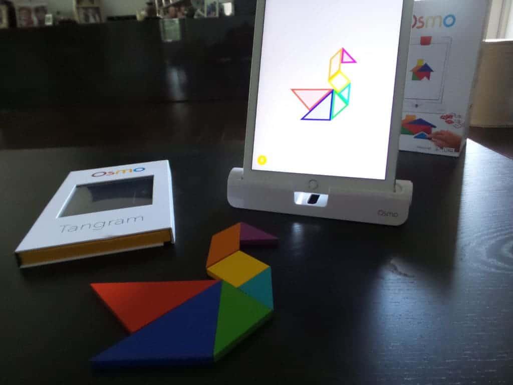 Osmo tangram app