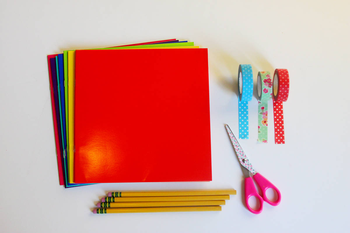 Back to School Washi Craft