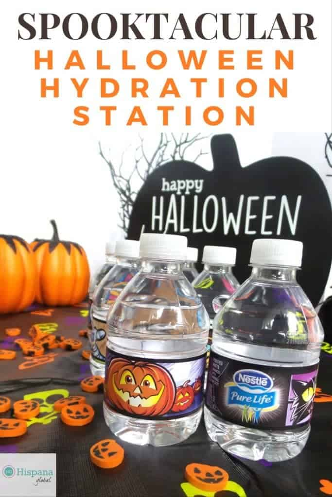 Spooktacular Hydration Station for Halloween