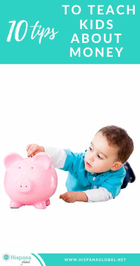 If you don't know how to begin teaching kids about money and savings, here are ten great tips to help them learn about personal finances.