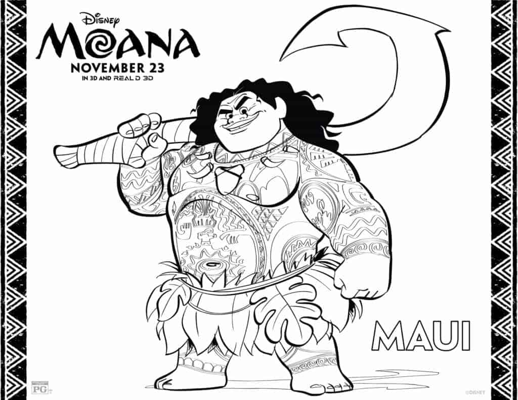 maui-from-moana-coloring-sheet