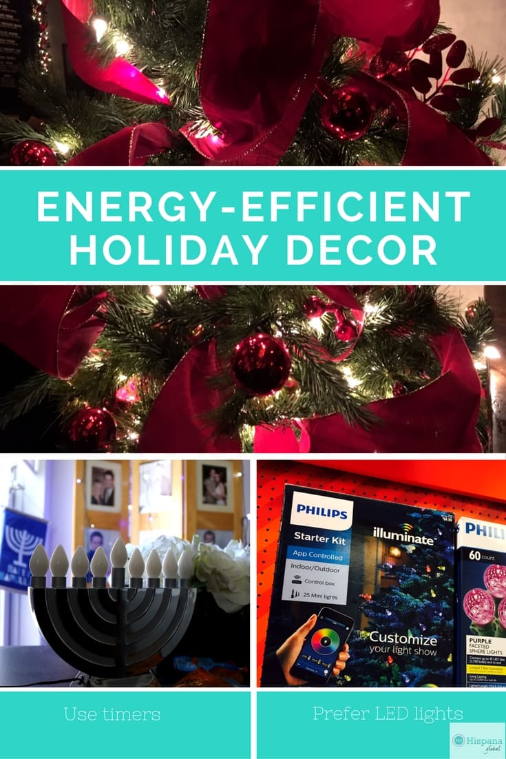 Energy efficient holiday decor to help you save money