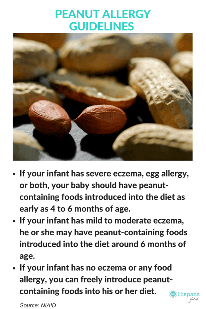 New peanut allergy guidelines from NIAID, important for all parents!