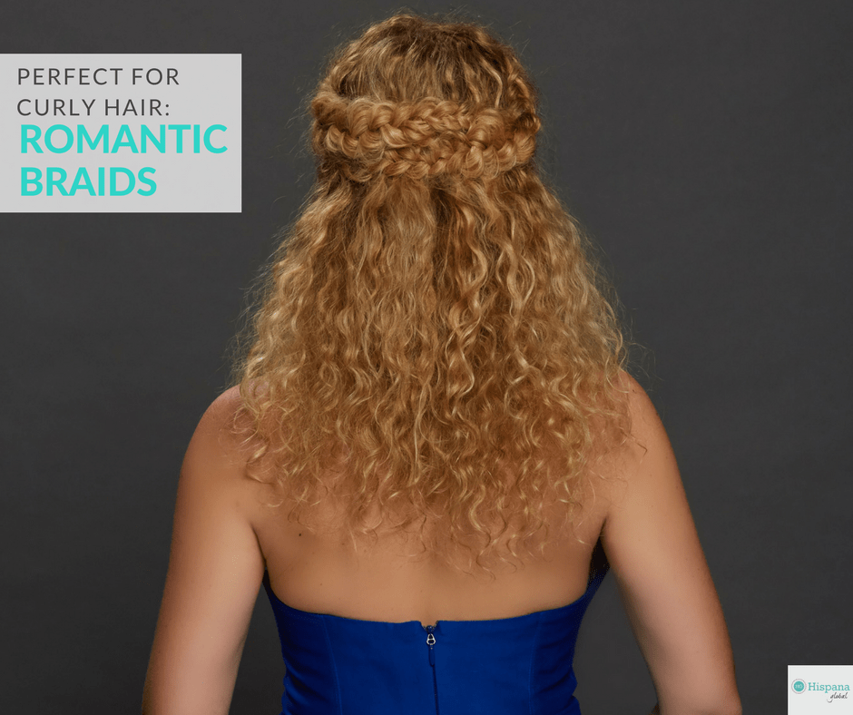 Inspired By NYFW: Romantic Braids For Curly Hair Tutorial