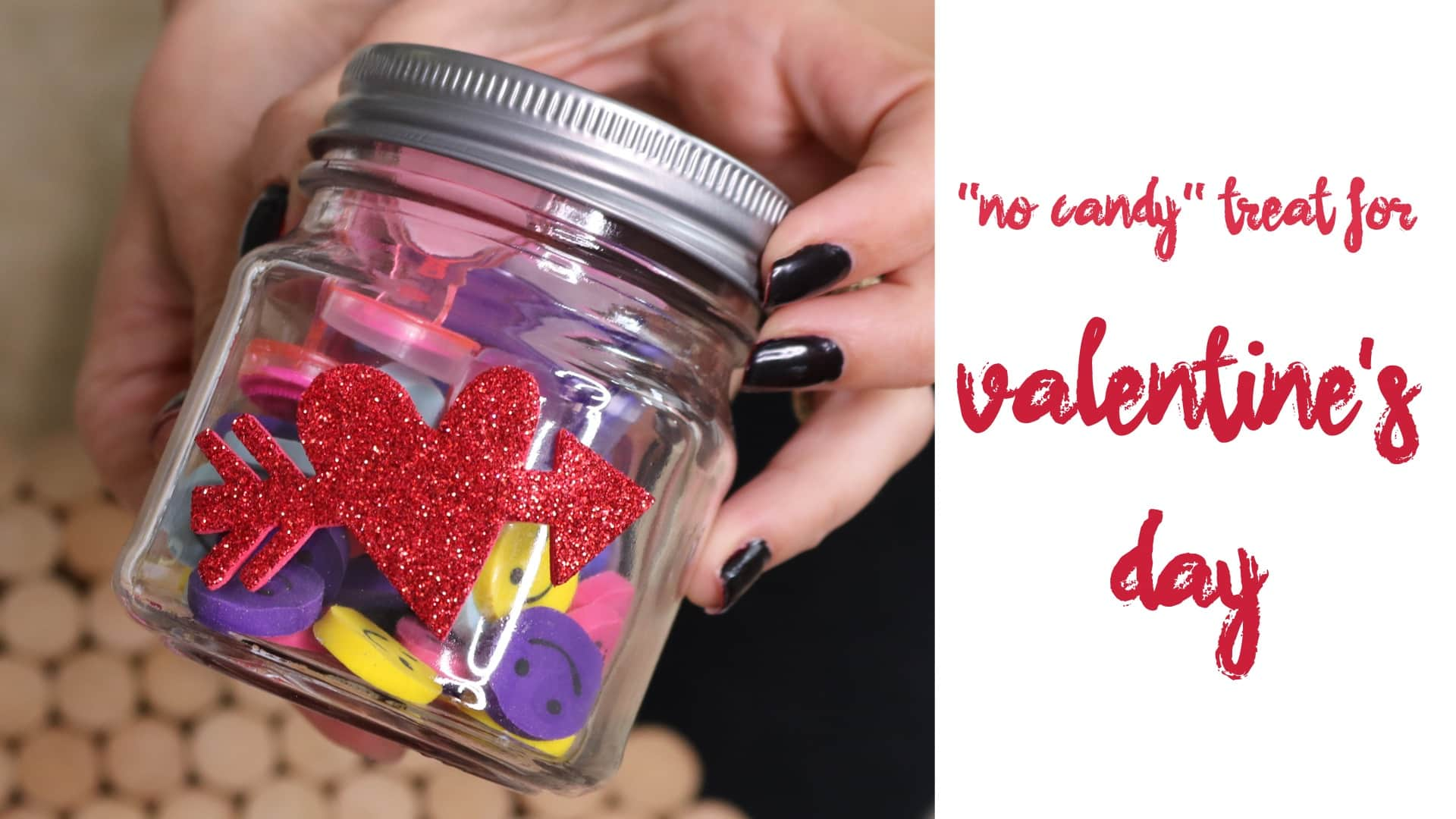 Easy DIY No Candy Valentine's Day Treat For Kids