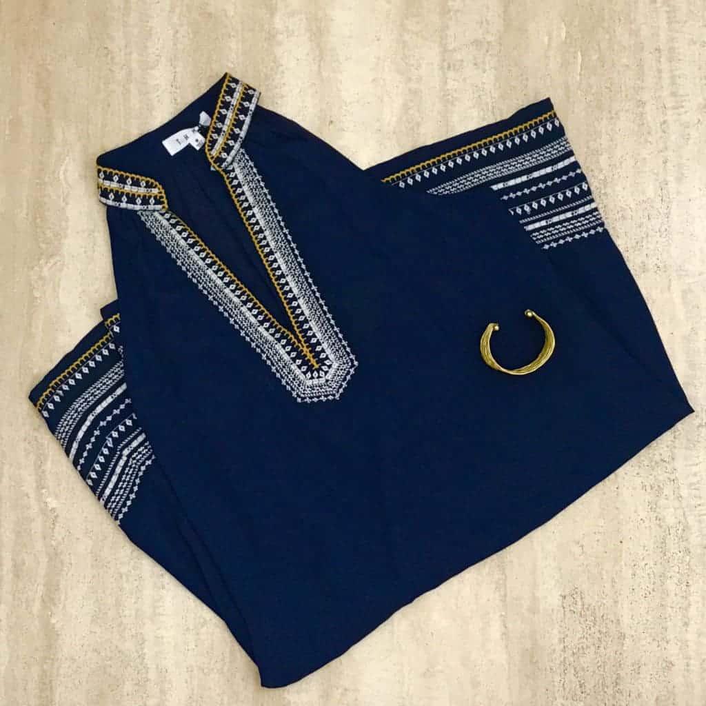 Stitch Fix navy blue dress