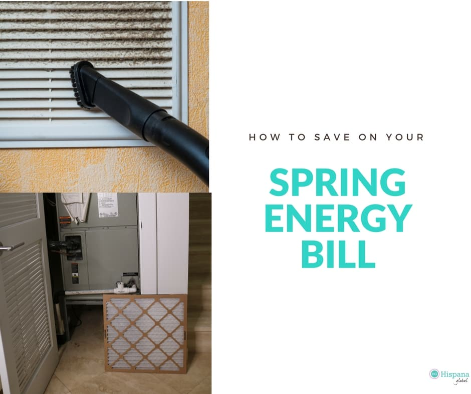 How to save on your Spring energy bill