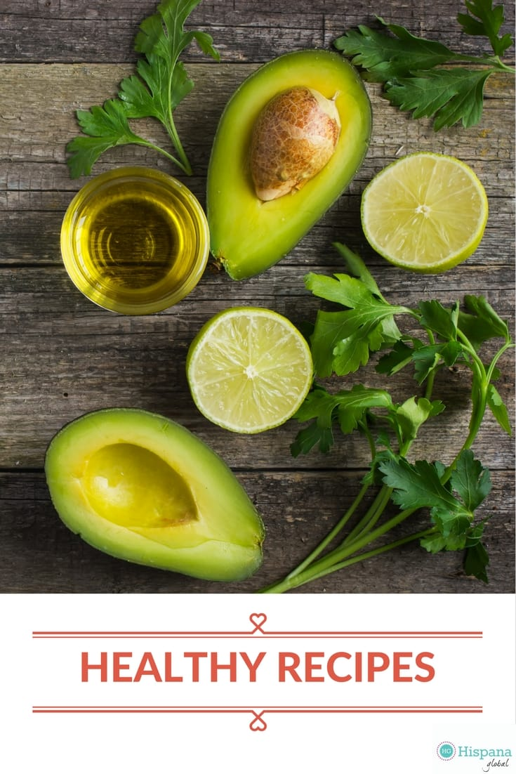 Healthy vegetarian recipes via hispanaglobal.net