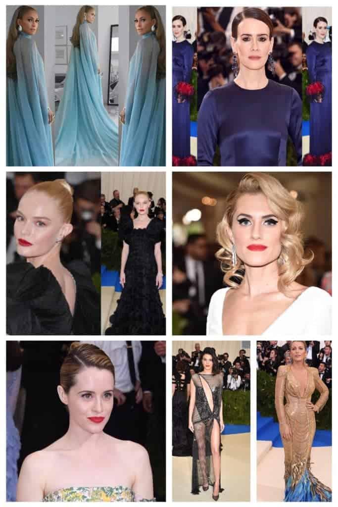 Met Gala 2017 top hair and beauty trends