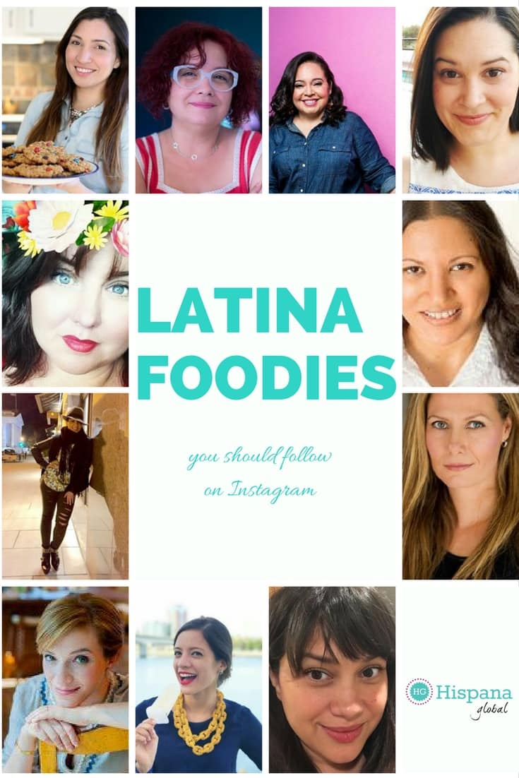 Top Latina Instagram food accounts