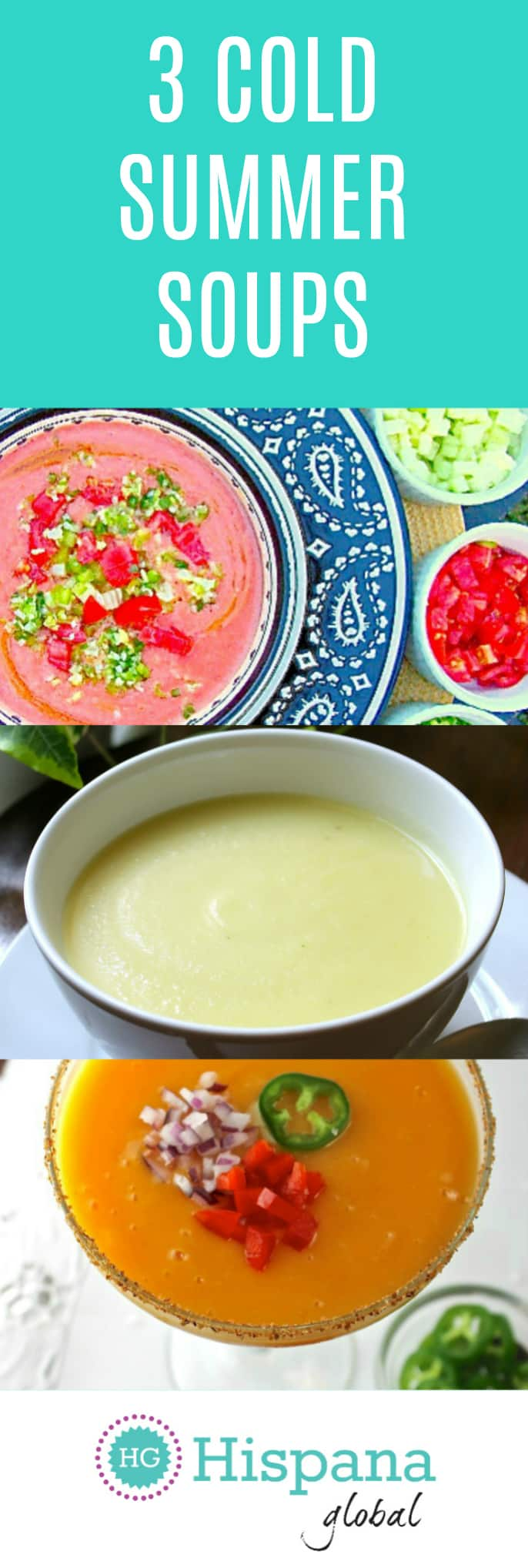 3 delicious cold soups that are perfect for the summer via hispanaglobal.net