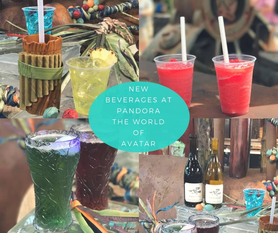 New drinks and beverages at Pandora the World of Avatar at Walt Disney World