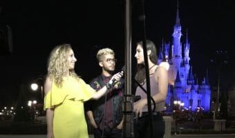 Interview ith Jordan Fisher and Angie Keilhauer at Walt Disney World